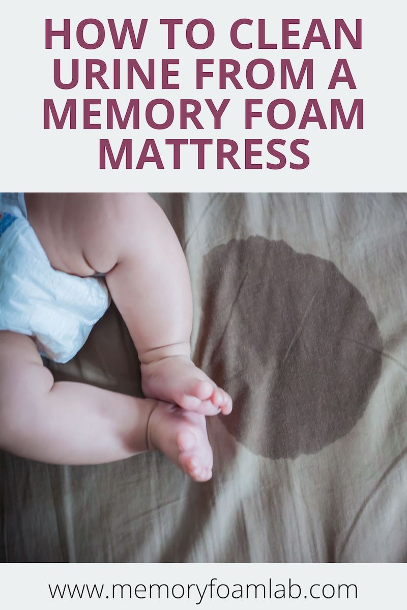 How To Easily Clean Urine From A memory Foam Mattress