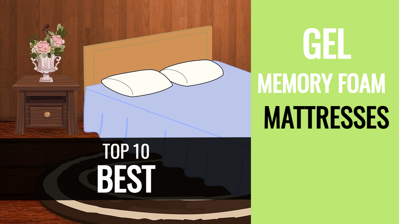 best gel memory foam mattress